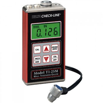 TI-25M Ultrasonic Wall Thickness Gauge