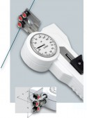 DXV Tension meter with measuring head rotated by 90º