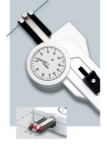 DXP Tension meter with smallest measuring head possible