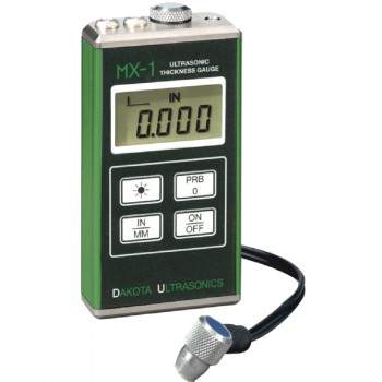 MX-1 Ultrasonic Wall Thickness Gauge