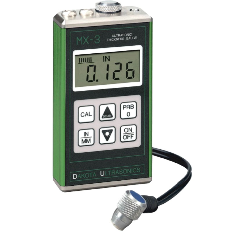 Mx 3 Ultrasonic Wall Thickness Gauge