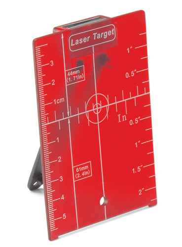Leica Rugby Magnetic Target Plate With Stand