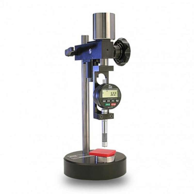 how to use a durometer tester