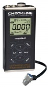 TI-25DLX Ultrasonic wall thickness gauge with data logging and USB interface