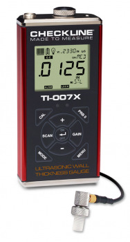 TI-007X Precision ultrasound wall thickness gauge