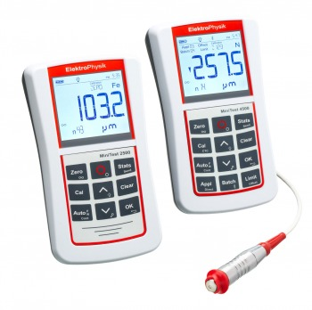 MiniTest 2500 - 4500 High precision coating thickness gauge