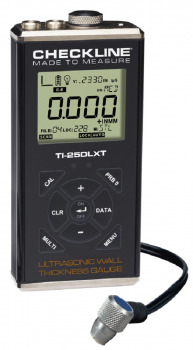 TI-25DLXT Ultrasonic Thickness Gauge with data memory