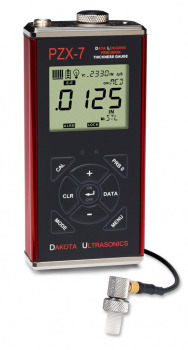 PZX-7DL Precision Ultrasonic Wall Thickness Gauge with Data memory & USB Output